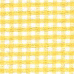 "Yellow Gingham Fabric - 1/8"" Check | Wholesale Gingham Fabric"