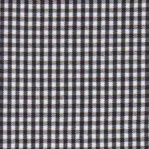 "Black Gingham Fabric: 1/16"" - Wholesale Cotton Fabric"