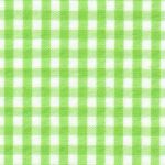 "Bright Lime Gingham Fabric: 1/8"" Check 