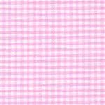 Bubblegum Pink Gingham Fabric: 1/16"