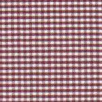 Crimson Gingham - 1/16"