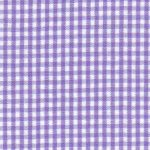 "Purple Gingham Fabric - 1/16"" Check 