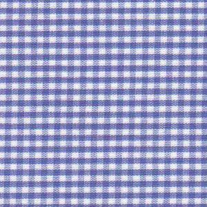 "Royal Gingham Fabric: 1/16"" Check | 100% Cotton Gingham"