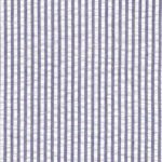 Navy Seersucker Fabric | Striped Seersucker Fabric - Navy