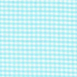 "Seafoam Gingham - 1/16""   Seafoam Fabric   Wholesale Gingham Fabric"