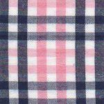Navy and Pink Fabric | Gingham Check Fabric | Wholesale Fabric- T89