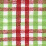 Red and Green Gingham Fabric | Cotton Gingham Fabric - T90