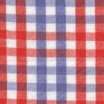 Orange and Purple Fabric | Gingham Check Fabric - T92