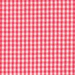 Watermelon Gingham Fabric - 1/16"