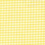 "Yellow Gingham Fabric: 1/16"" Check 